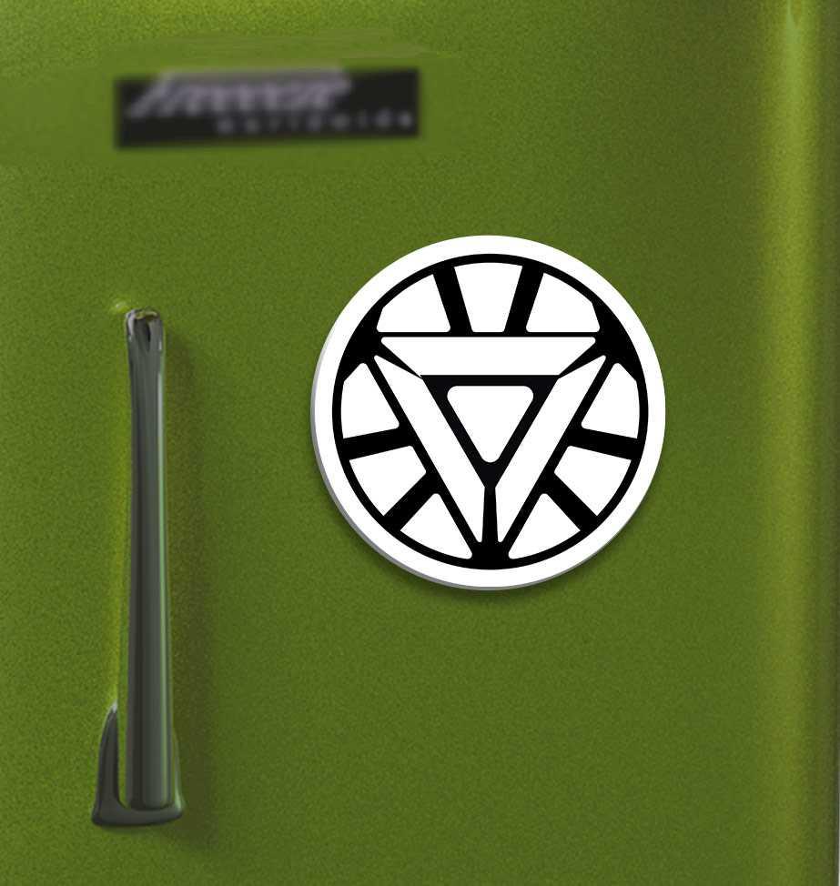Buy triangular arc reactor of ironman printed on large round