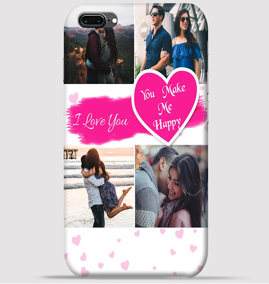 d42f437804945 iPhone 7 plus Mobile Cover - Lovely couple collage theme Cover at ...