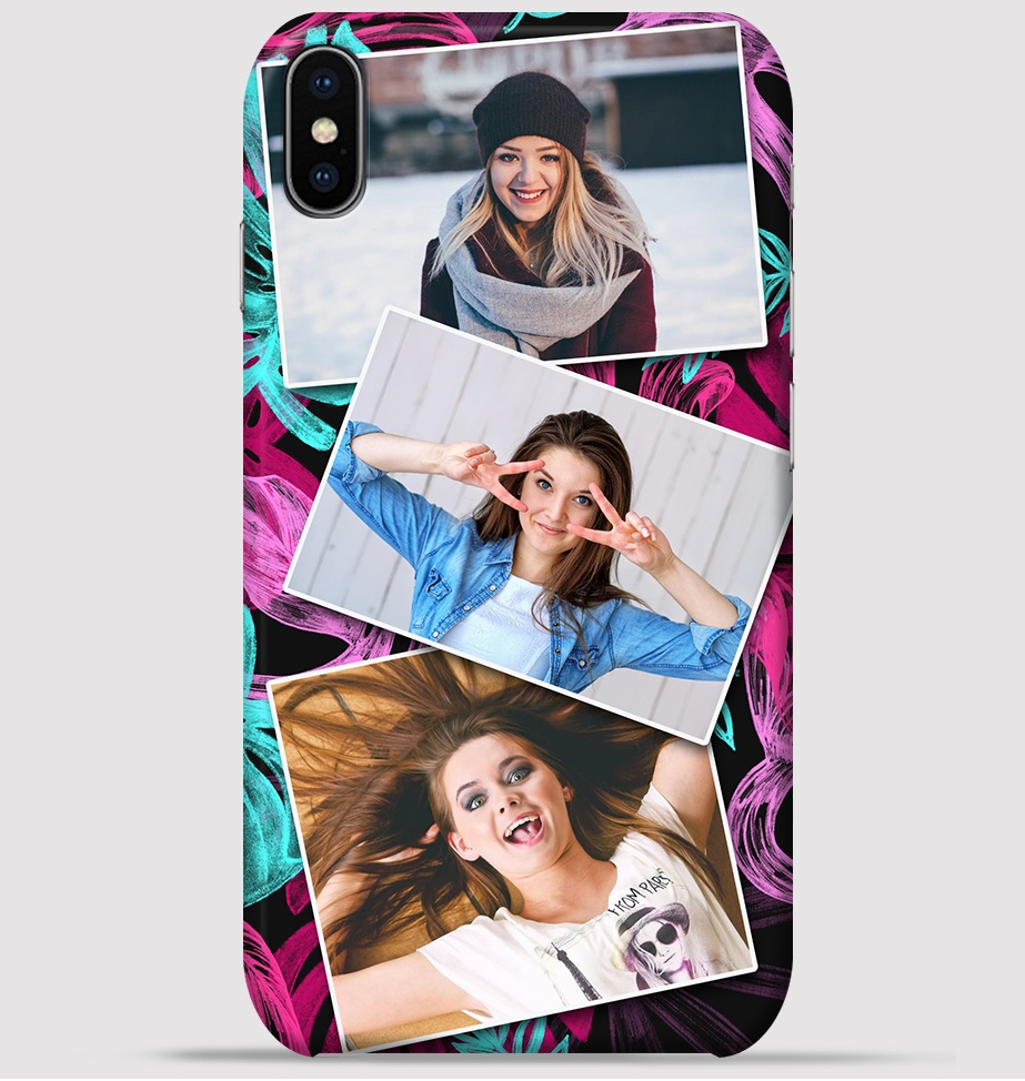Best Girlfriends collage design for iphone X back cover -Greetstore
