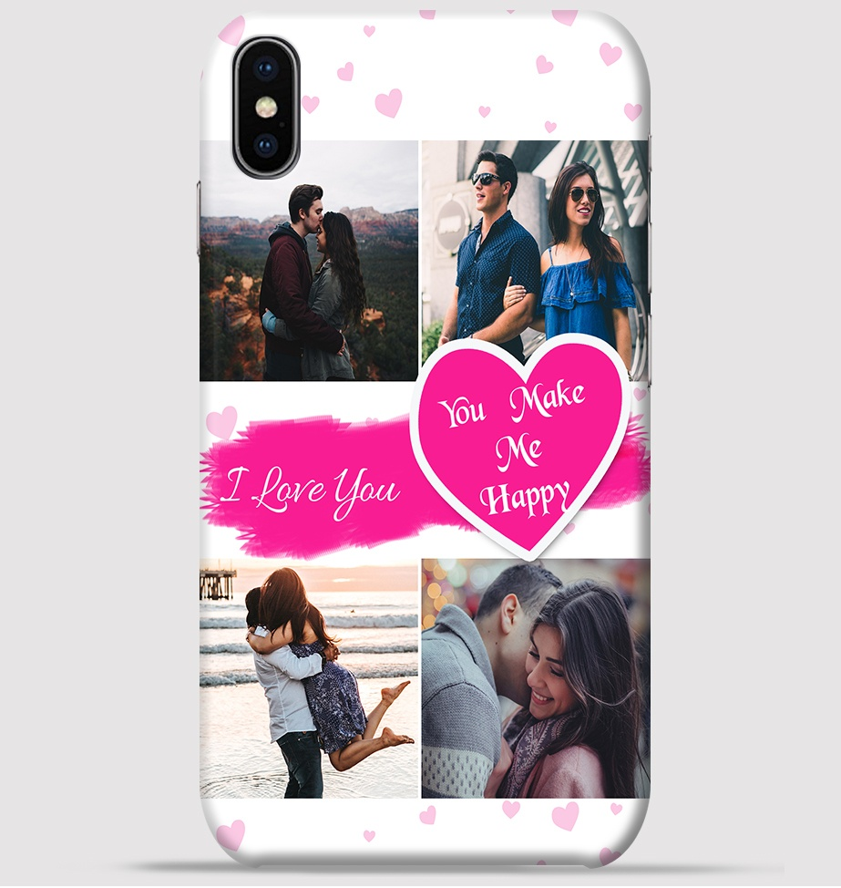 Couple Collage Maker Design For Iphone Xs Back Cover Greetstore