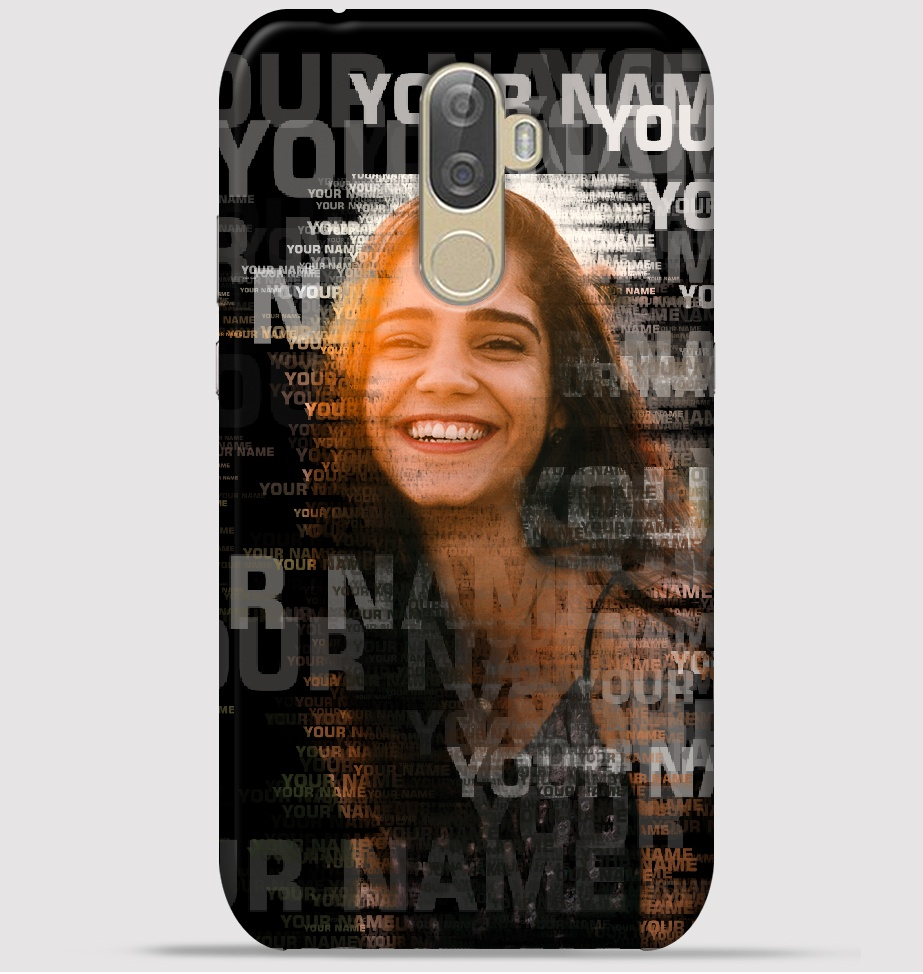 Lenovo K8 Note Mobile Cover - Text Portrait theme Cover at ₹ 249