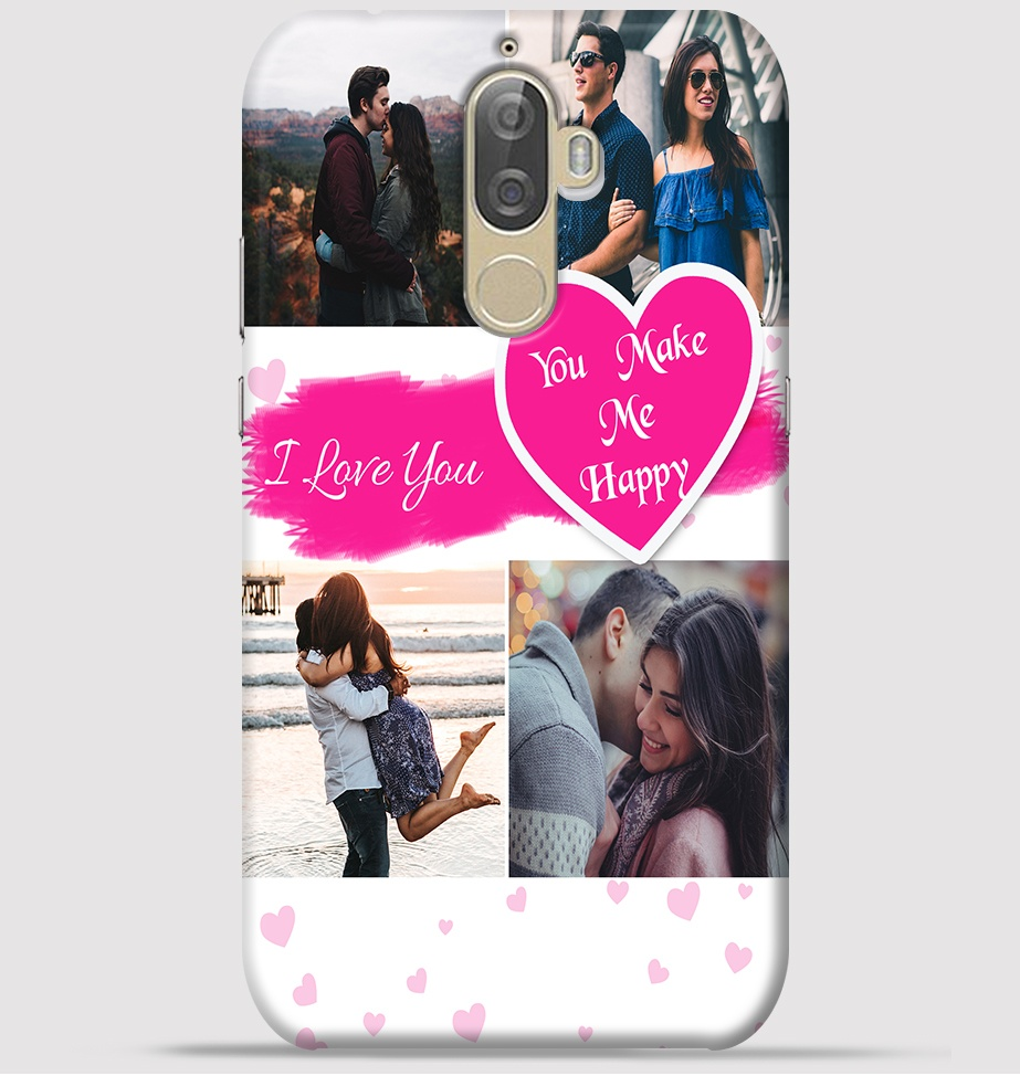 Lenovo K8 Note Mobile Cover - Lovely couple collage theme Cover at