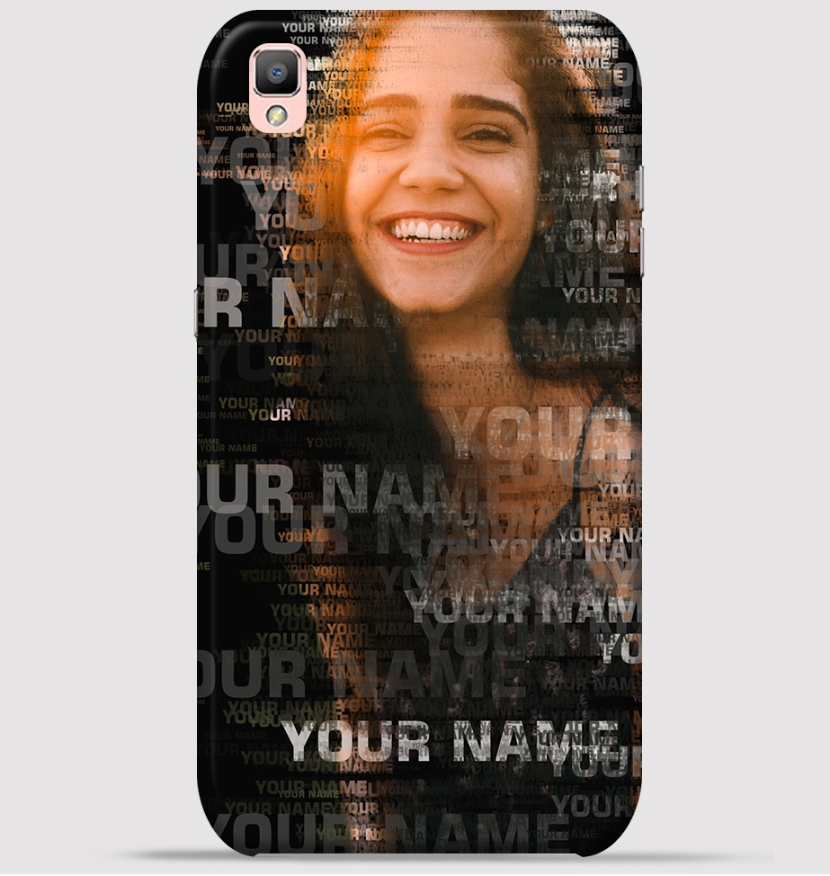 Oppo F1 Plus Mobile Cover Text Portrait Theme At 249 Your Picture For