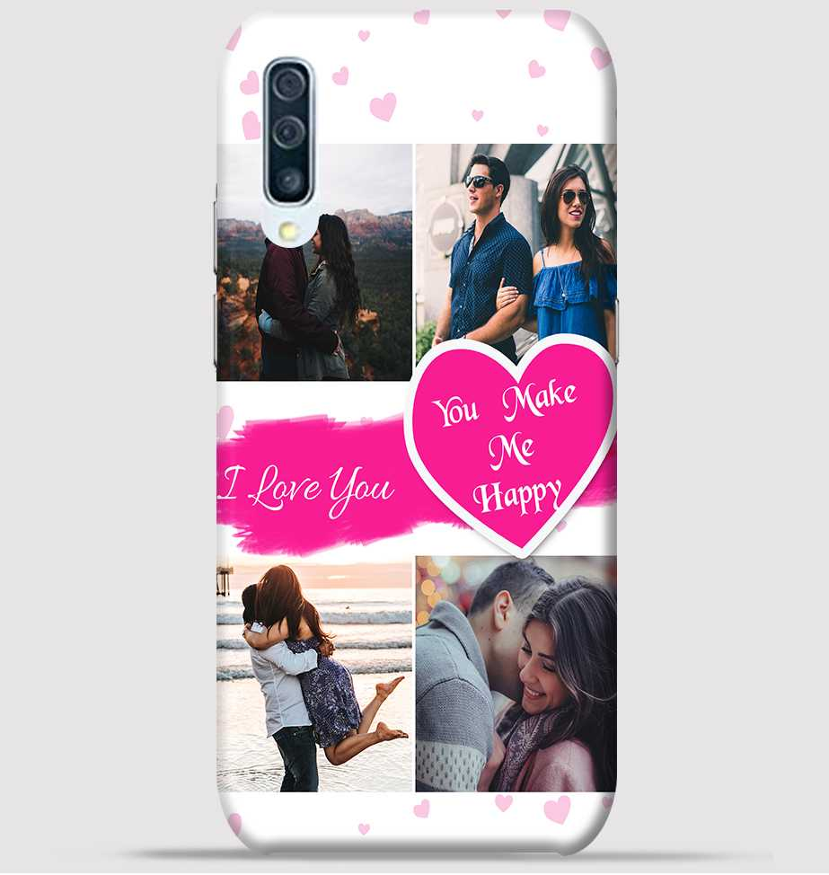 purchase cheap f6f31 6ba01 Couple Collage maker design for samsung A50 back cover -Greetstore