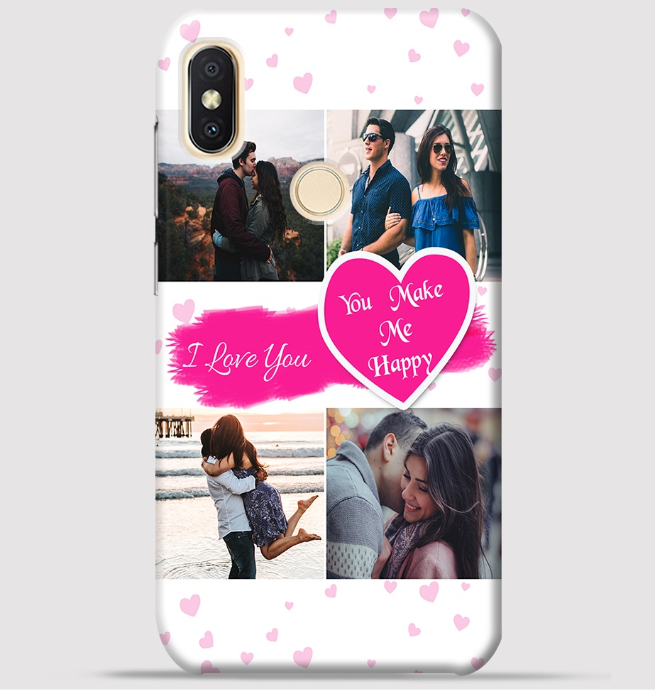 best authentic 74820 a505a Couple Collage maker design for Redmi y2 back cover -Greetstore