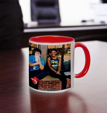 Full Photo Wrapped Color Coffee Mug