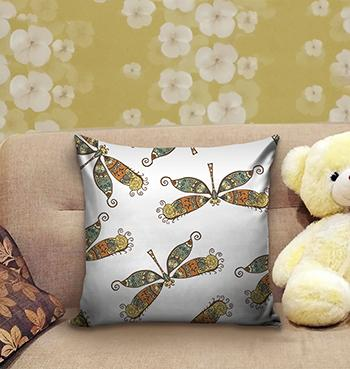 Butterfly Pattern Pillow with fillers