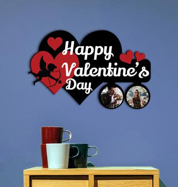 Personalized valentine special collage photo frame for valentines day
