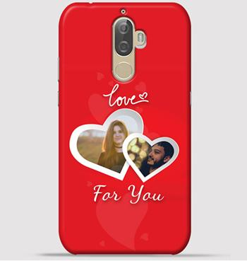 Lenovo K8 Note Mobile Cover - Lovely couple collage theme